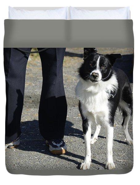 Dog And True Friendship 9 Duvet Cover