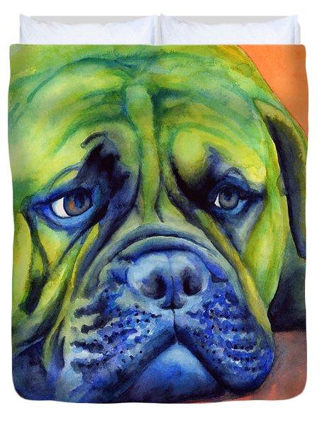 Dog Tired Duvet Cover