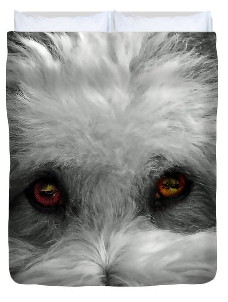 Coton Eyes Duvet Cover