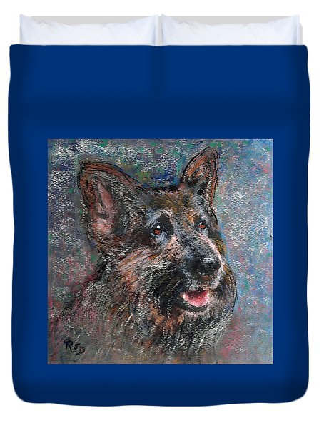 Doggy Dreams Duvet Cover by Richard James Digance