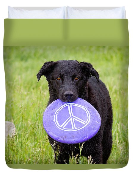 Dogs For Peace Duvet Cover by James BO  Insogna