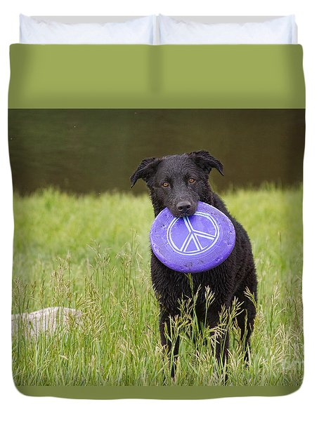 Dogs For Peace Too Duvet Cover by James BO  Insogna