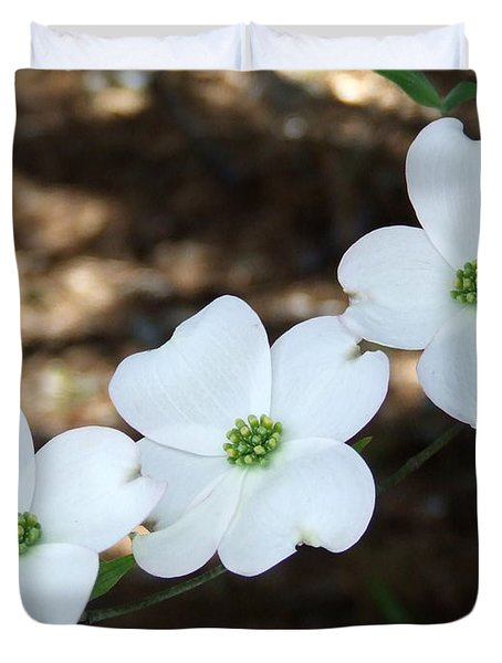 Dogwood Duvet Cover by Andrea Anderegg
