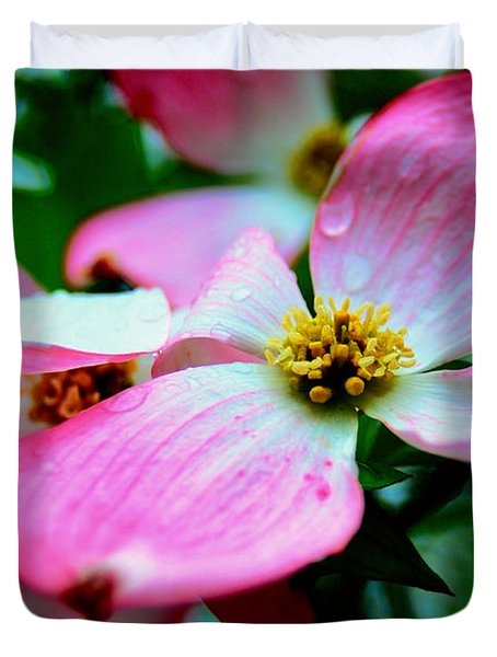 Dogwood Dew Duvet Cover