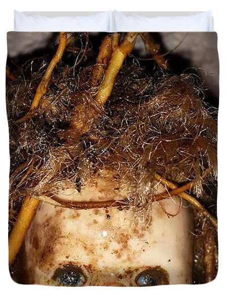 Doll Head Duvet Cover