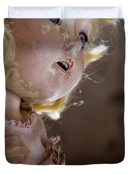 Doll In The Attic Duvet Cover