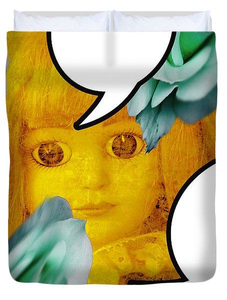 Dolls 8 Duvet Cover