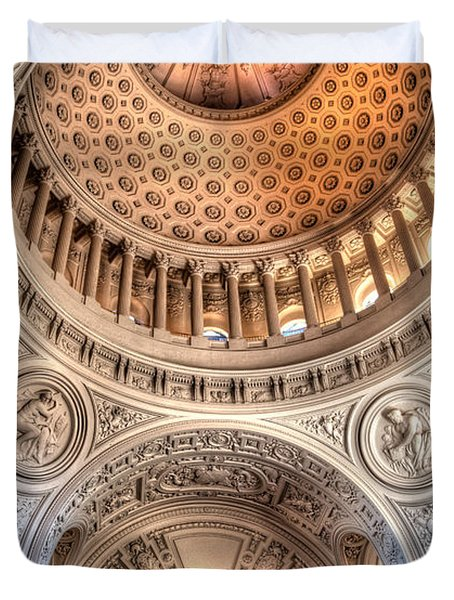 Domed Ornate Interior Duvet Cover