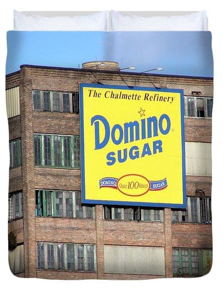 Domino Duvet Cover by Ed Weidman