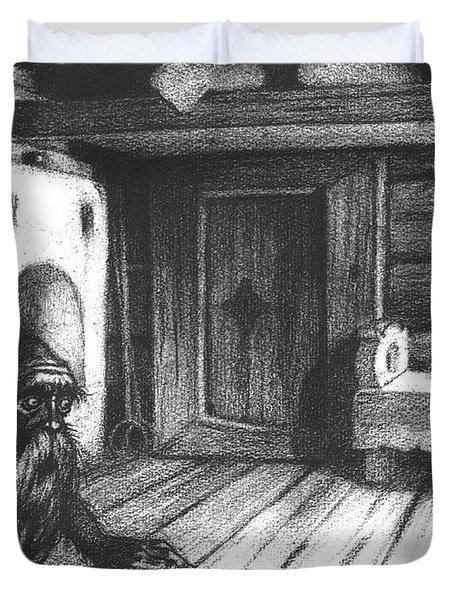 Domovoi, A Spirit Of The House Duvet Cover