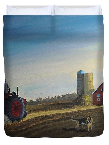 Done For The Day Duvet Cover by Norm Starks