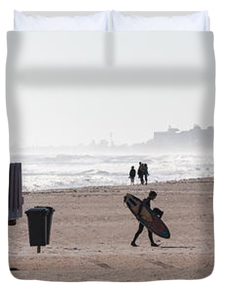 Done Surfing Duvet Cover