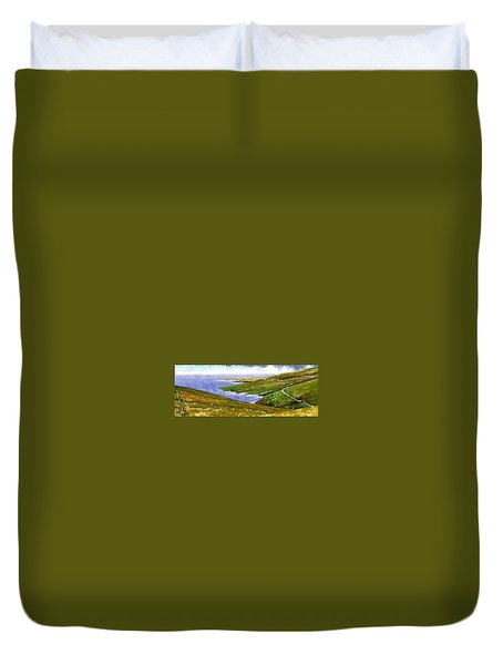 Donegal Coast Duvet Cover