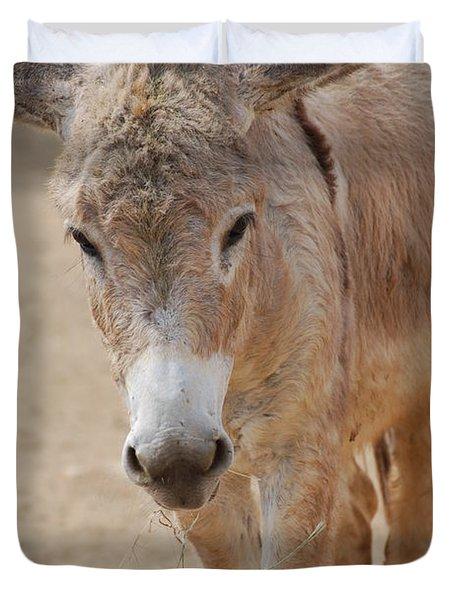 Donkey Duvet Cover by DejaVu Designs