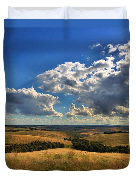 Donny Brook Hills Duvet Cover by Joy Watson