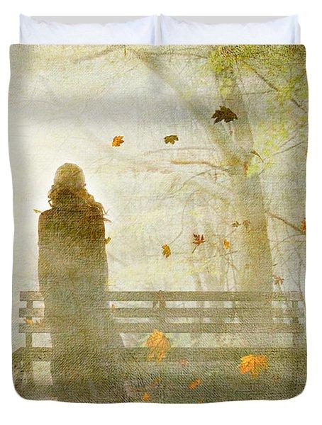 Don't Look Back ... Duvet Cover