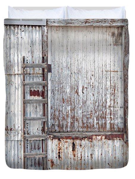 Door 1 Duvet Cover