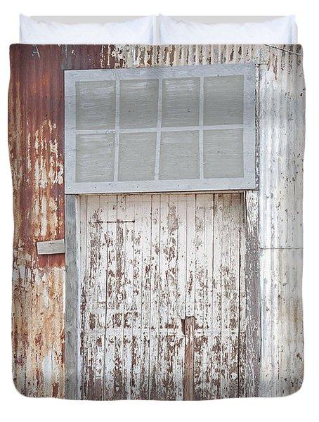 Duvet Cover featuring the photograph Door 2 by Minnie Lippiatt