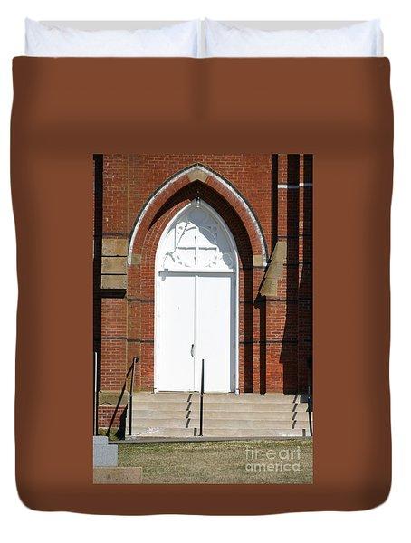 Door To Heaven Duvet Cover