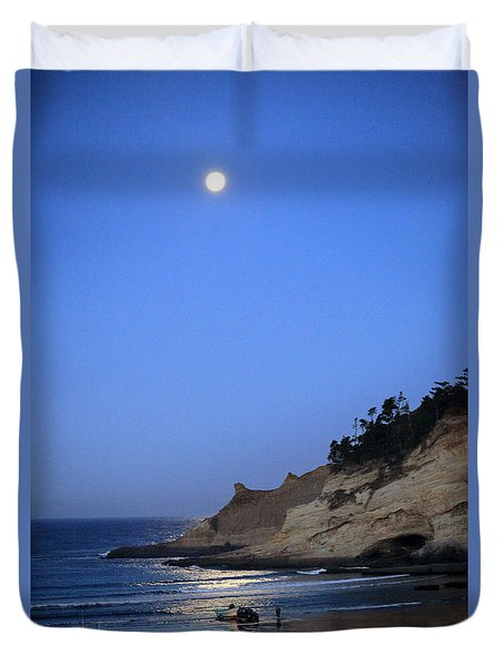 Dories At Dawn Duvet Cover