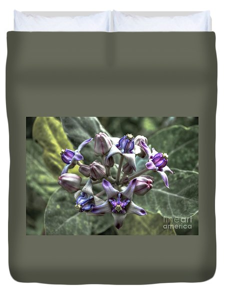Duvet Cover featuring the photograph Dork Rak by Michelle Meenawong