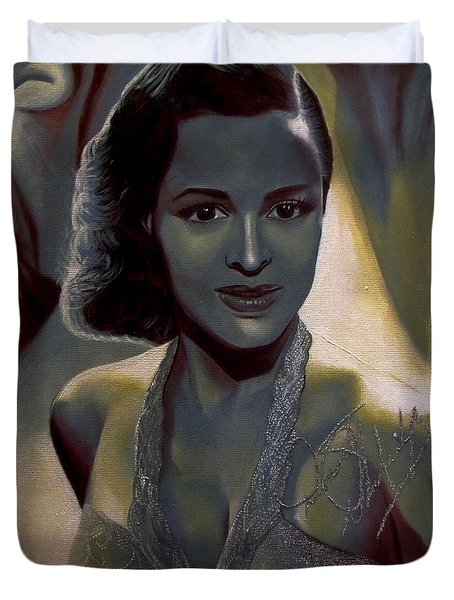 Dorothy Dandridge Duvet Cover