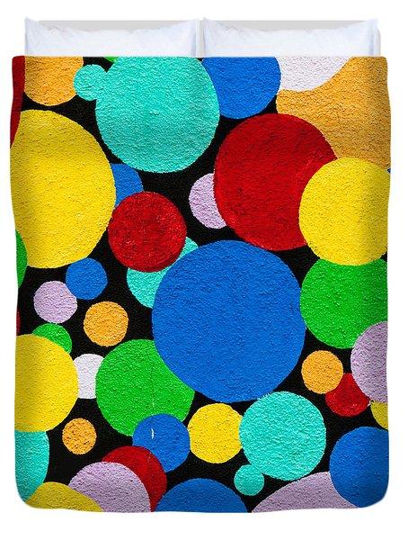 Dot Graffiti Duvet Cover by Art Block Collections