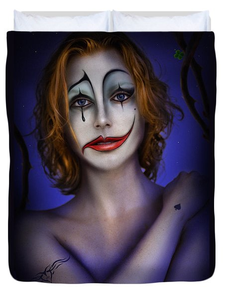 Double Face Duvet Cover by Alessandro Della Pietra