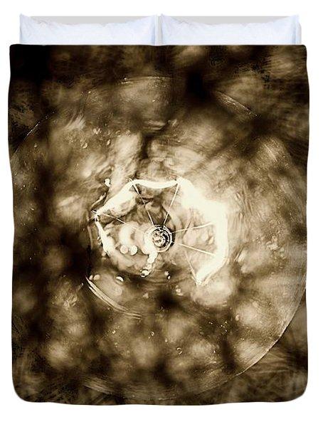 Double Insider Duvet Cover by Yevgeni Kacnelson