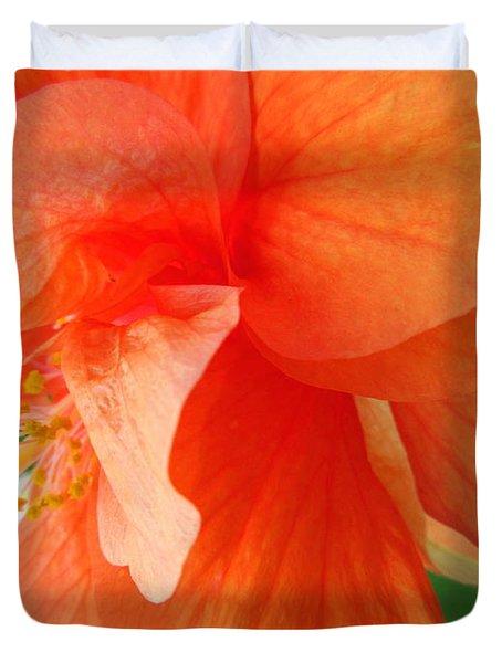 Double Peach Duvet Cover