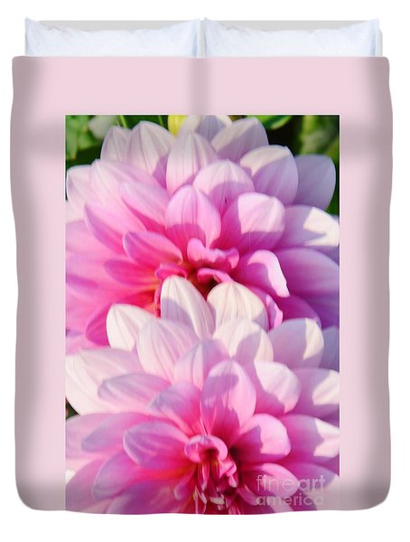Double Pink Duvet Cover by Kathleen Struckle