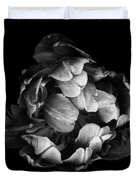 Double Tulip Duvet Cover by Oscar Gutierrez