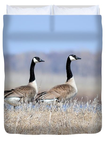 Double Vision Duvet Cover