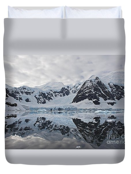 Doubleup... Duvet Cover by Nina Stavlund