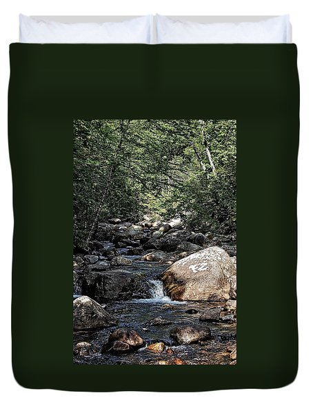 Down Stream Duvet Cover