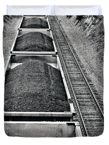 Down The Line Duvet Cover