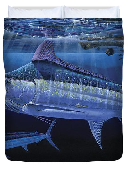 Down Under Off0055 Duvet Cover by Carey Chen