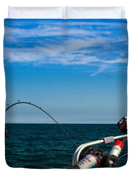 Downriggers Duvet Cover