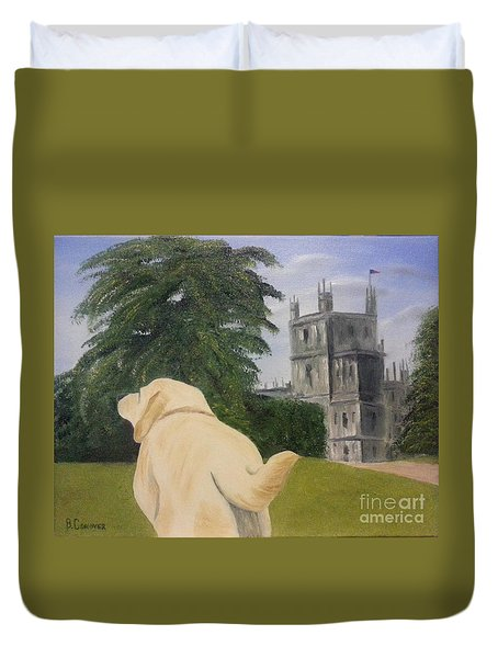 Downton Abbey Duvet Cover by Bev Conover