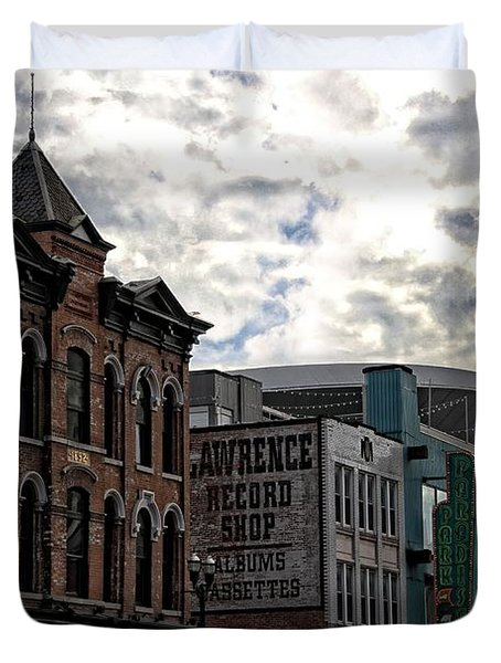 Downtown Nashville Duvet Cover by Dan Sproul