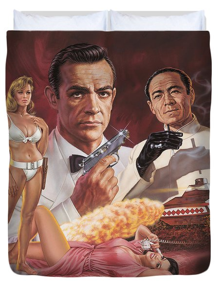 Dr. No Duvet Cover