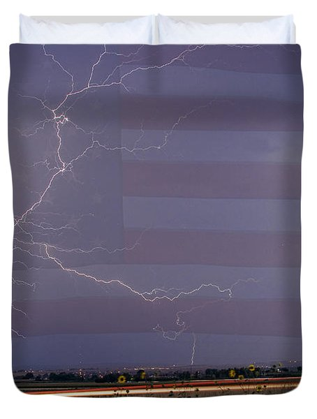 Drag On Usa Duvet Cover by James BO  Insogna