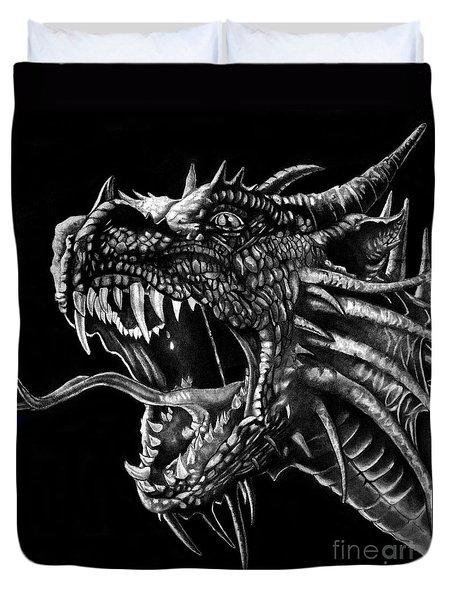 Dragon Duvet Cover by Bill Richards