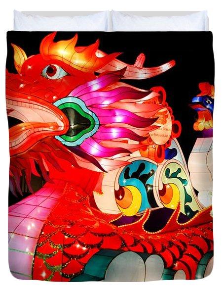 Dragon Float Duvet Cover