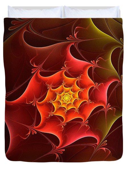 Dragon Scale Duvet Cover by Anastasiya Malakhova