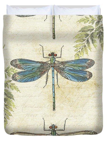 Dragonflies In The Summertime-jp2324 Duvet Cover