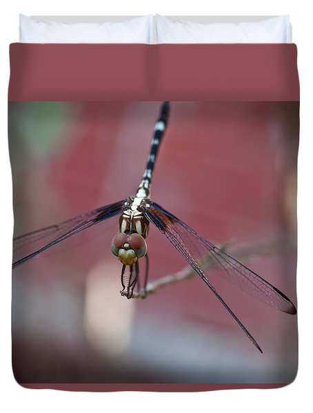Dragonfly 2 Duvet Cover by Mark Alder
