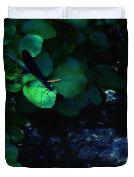 Dragonfly Daze Duvet Cover