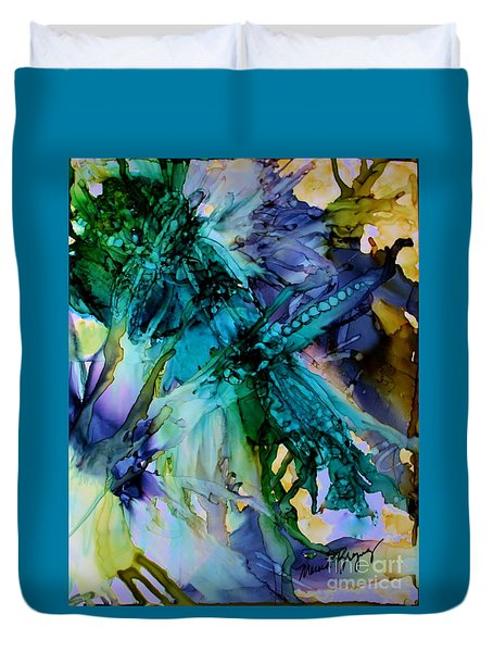 Dragonfly Dreamin Duvet Cover