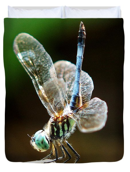 Dragonfly Headstand Duvet Cover